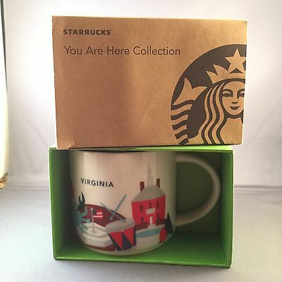 Starbucks Virginia You Are Here 14 Ounce City Mug