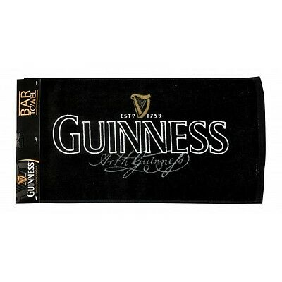 Guinness Signature Bar Towel Man Cave Decoration NEW GNS5001