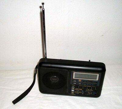 DAK PLL SYNTHESIZED WORLD BAND RECEIVER MR-101 RADIO