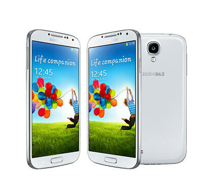 New Samsung Galaxy S4 GT-I9500 Unlocked Android OS Smartphone (16GB) - White