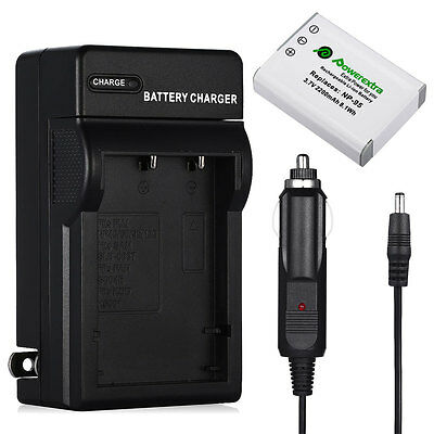 FUJIFILM FUJI NP-95 NP95 Battery + Charger For FinePix X100S X100 F31fd F30 Zoom