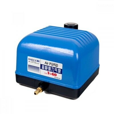 Hailea V60 10 Way Air Pump - 60L/min Hydroponic Aquarium Air Pump