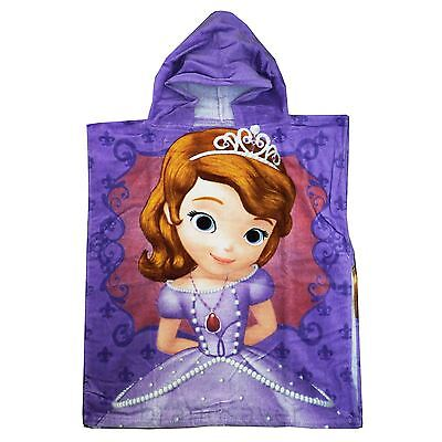 Disney Junior Sofia the First Towel Bath Hooded Poncho Swimming Towel