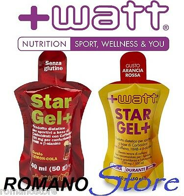 +WATT STAR GEL 50Gr. 40ml. INTEGRATORE ALIMENTARE