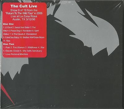 THE CULT- Live At La Zona Rosa, Austin, TX ,12th March 2006 CD new sealed