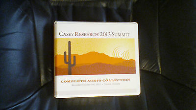 Casey Research 2013 Summit recordings, Oct. 4-6, 2013, Tucson featuring Ron Paul