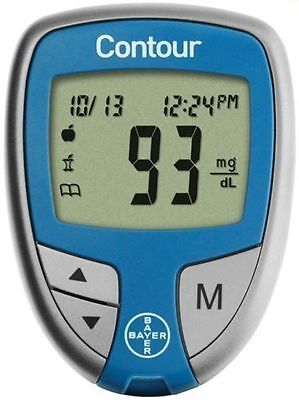 Contour Blood Glucose Monitoring System 1 Ea By Bayer