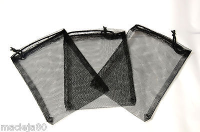 Aquarium DRAWSTRING 14 x 18cm Small Filter Media Net Bag fish tank