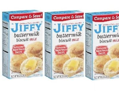 Jiffy Buttermilk Biscuit Mix 8 oz (3 Pack)