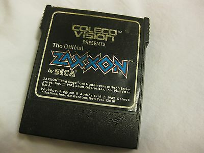 Zaxxon - Colecovision - Cartridge - Tested and Working