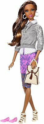Barbie Style Grace Doll Fashionistas Cjp78 Sheer Lace Skirt *new*