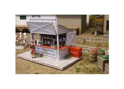 Bar Mills Swanson's Lunch Stand Laser-Cut Wood Structure Kit #0952 HO Scale