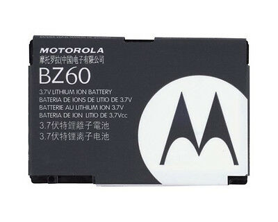 AUTHENTIC MOTOROLA BATTERY BZ60 BZ-60 FOR RAZR V3a RAZR V3xx