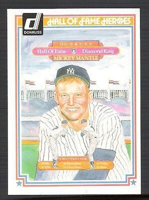 MICKEY MANTLE 1983 DONRUSS PUZZLE ALL 63 PIECES!!