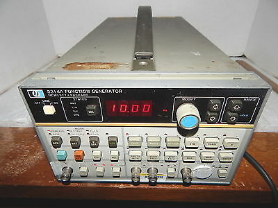 HP Hewlett Packard 3314A Function Generator