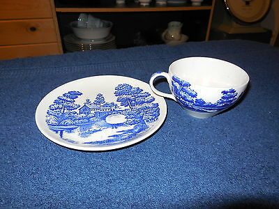 "NASCO ""LAKEVIEW"" JAPAN BREAD & BUTTER PLATE & CUP"
