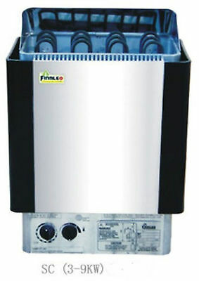 4.5KW SAUNA HEATER STOVE for HOME BATH SHOWER SPA @ Stainless Steel Housing