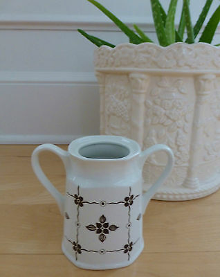 VTG J&G Meakin Sugar Bowl Staffordshire HOMESPUN Ironstone Liberty 1960s NO LID