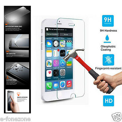 100% Genuine Tempered Glass Screen Protector for Samsung Galaxy S5 iPhone 6 Plus