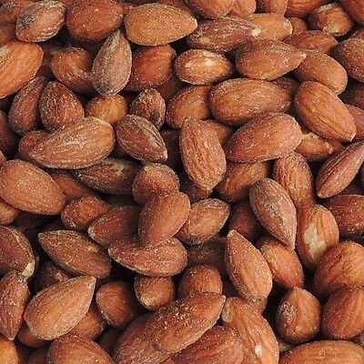 Whole Almonds Nuts Roasted Salted Shelled - Bulk  1kg / 500g  - FREE Shipping