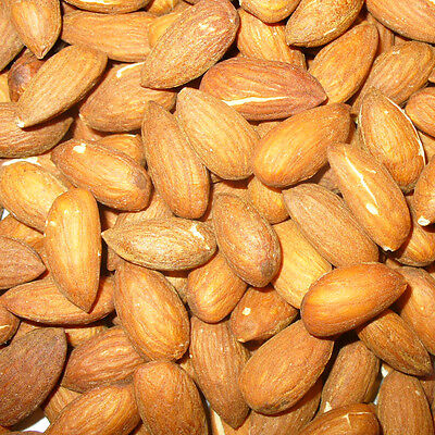 Whole Almonds Nuts Roasted Unsalted Shelled - Bulk  1kg / 500g  - FREE Shipping