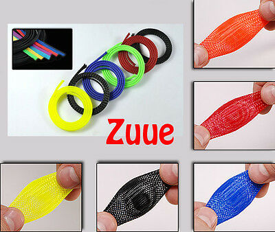Mesh Sleeving Wire Cable Tidy Guard Several Colours & Diameters Rc Quad Fpv