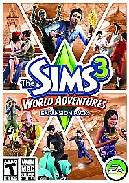 The Sims 3: World Adventures (Expansion Pack)  (PC, 2009)