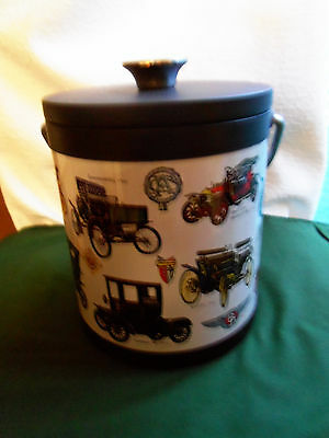 Ice Bucket with Antique Car Design