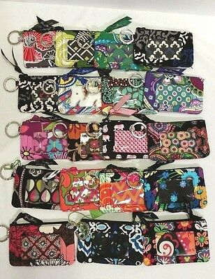 Vera Bradley Zip ID Case in many choices nwt & nwot FREE SHIPPING!!