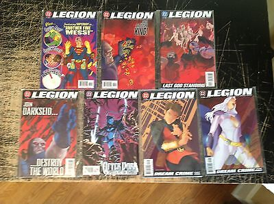 Lot Of 7 The Legion ( Of Super-Heroes ) DC Comic Books # 22 23 24 28 29 30 31 !!