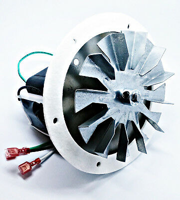 "Englander Pellet Stove Combustion Exhaust Blower Motor 4 3/4"" Paddle PU-076002B"