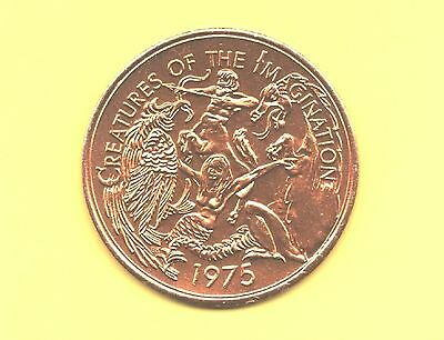 Mermaid Token ~ 1975 Creatures of the Imagination Coin