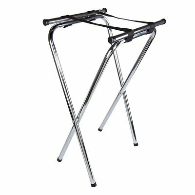 6 pieces Thunder Group Double Holding Tray Stand, Chrome Plated