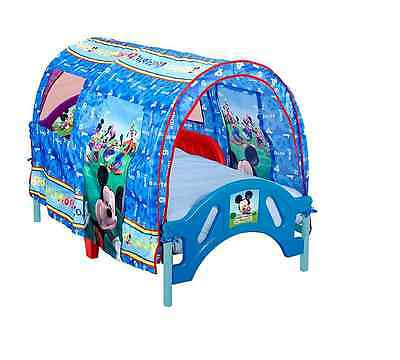 Disney Mickey Mouse Toddler Tent Bed Crib Bed Frame - Mattress Not Included