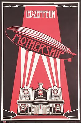 0354  Vintage Music Poster Art  Led Zepplin Mothership  *FREE POSTERS