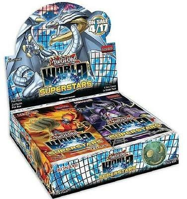 Yugioh World Superstars 1st Edition Booster Box factory sealed first ed fastship