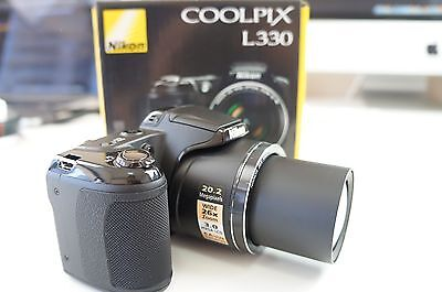 Nikon COOLPIX L330 20.2 MP Digital Camera - Black