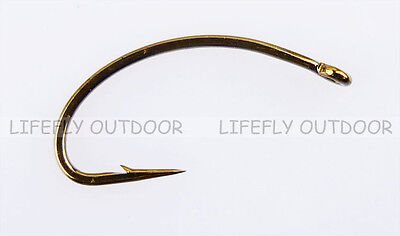 Pick Size / 100 Mustad Signature C49S, Caddies Fly Hooks, Fly Tying