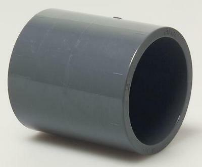 High Quality PVC U Socket Couplers Solvent Weld 20 25 32 40 50 63 mm PVCU