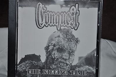 CONQUEST The Killing Time CD 1995 MELODIC METAL INDIE MARSHALL LAW rare