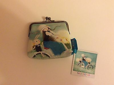 Reduced Kori Kumi Clasp Purse Summertime Santoro & Gorjuss Ideal Christmas Gift