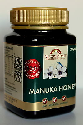Manuka Honey MGO 100+ 250g 500g 1kg 2kg Raw + Free Gift Salt 25 g & Delivery