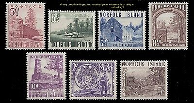 1953 Norfolk Islands Tower, Airfield, Bloody Bridge, Salt House, Complete  Vlh