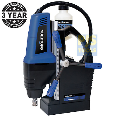 Evolution EVO42 240v 42mm Mag Drill Magnetic Rotabroach type *3 year warranty*