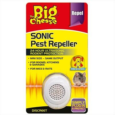 Professional Mouse Mice Rat Rodent Pest Control Sonic Repeller Deterrent Humane