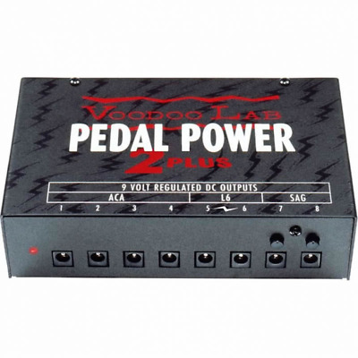 Voodoo Lab Pedal Power 2 Plus - Aust 240V - 5 Year Warranty