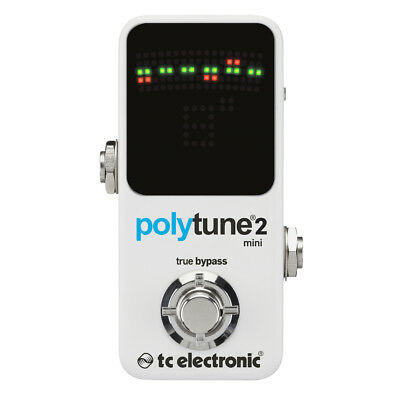 TC Electronic Polytune 2 Mini - Polyphonic Guitar Pedal Tuner
