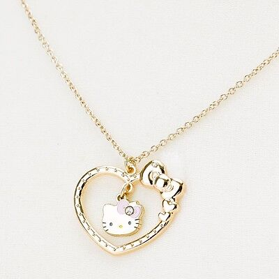 Hello Kitty Necklace  Pendant DX frame Fashion Jewelry Sanrio Japan Gift S2351