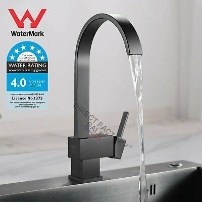 Luxury Nickel Brushed Kitchen Pull Out Down Mixer Tap Faucet Gooseneck AU Design