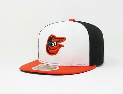 low priced e7c0f 746ba New Era 59Fifty Hat MLB Kids Baltimore Orioles On Field Custom Fitted Home  Cap